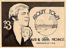 1975 WDTB TV AD~DAVID & DIANA MICHEALS host AROUN TOWN in PANAMA CITY,FLORIDA