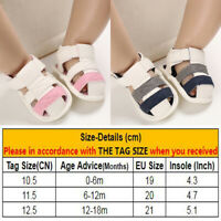 Newborn Boy Girl Sandals Soft Shoes 0-18 Months Baby Infant Accessories