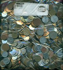 50 POUNDS of ASSORTED WORLD COINS...NICE VARIETY!