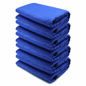 72x80 5PCs Thick Furniture Moving Packing Blanket For furniture Pads