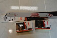 "18"" Oregon chainsaw guide bar 180SDET041 & 2 chain combo for (Echo) CS-400 +"