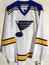 CCM Classic NHL Jersey Saint Louis Blues Team White Throwback sz M
