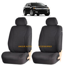 BLACK SPEED AIRBAG COMPATIBLE LOWBACK SEAT COVERS for FORD MUSTANG EXPLORER