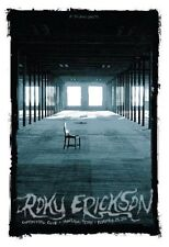 Roky Erickson Houston 2010 Silkscreen Gig Poster S/N Todd Slater Rare
