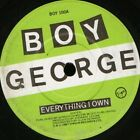 "BOY GEORGE everything i own 7"" WS EX/ uk virgin BOY 100"