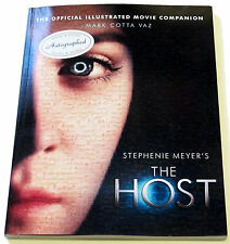 The Host: the Official Illustrated Movie Companion by Mark Cotta Vaz SIGNED 1ST