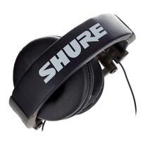 SHURE SRH 550DJ cuffie headphones professionali pieghevoli per DJ