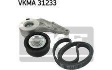 SKF Juego de correas trapeciales poli V VKMA 31233