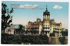 Mint, Barcelona, Spain, Entrada a la Avenida del Tibidabo, 1908