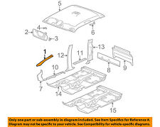 GM OEM Interior-Wndshld Pillar Trim Right 15262945