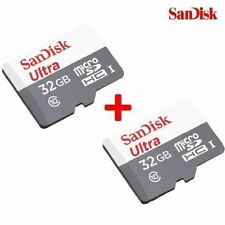 Sandisk 32GB Ultra Micro SDHC Memory Card 48MB/s  class 10 (Combo Of 2)+Warranty