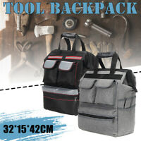 Oxford Tool Bag Jobsite Storage Organizer Pockets Pouch Shoulder Electrician