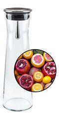 Bohemia Cristal Wasserkaraffe 1.1L, Karaffe,Glaskaraffe,Glas Kanne,Trinkkaraffe