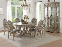 Northville - Dining Table Antique Champagne
