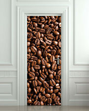 Door STICKER coffee cafe decole poster