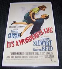 It's a Wonderful Life 11X17 Movie Poster Version 2 Donna Reed James Stewart