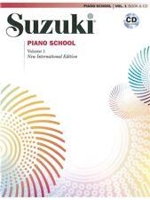 Suzuki Piano School New International Edition Piano Volume 1 MUSIC BOOK & CD