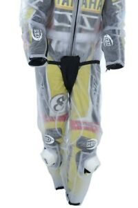R&G Waterproof Rain Over Trousers Ideal for Motorcycle Motorbike Leathers