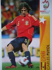 Panini 476 Carles Puyol Espana UEFA Euro 2008 Austria - Switzerland