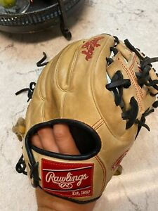 Rawlings Heart of the Hide men's infield baseball glove 11 1/4
