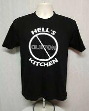 Hells Kitchen not Clinton NYC Adult Medium Black TShirt