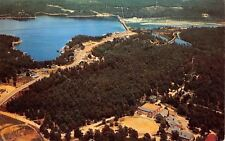 Lake Ozark Missouri~Aerial View~1950s School of the Ozarks~Bagnell Dam