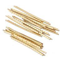Thin fretwire fret wire 1.5mm crown 0.75mm high 6x300mm lengths mandolin new