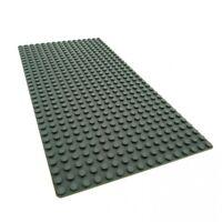 1 x Lego System Bau Platte 16 x 32 neu-dunkel grau flach 16x32 Noppen Star Wars