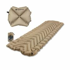 Klymit Insulated Static V Recon Sleeping Pad Travel Mat w/ Pillow X Recon
