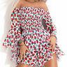 By Alina Mexton Damenkleid Minikleid Tunika Kleid Longtop Strandkleid XS S M