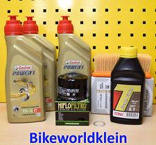 BMW F 800 S / ST alle 06-13 Öl Ölfilter Luftfilter Motoröl Castrol Servicekit