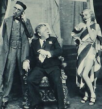 Seymour Hicks On Stage Scenes From Vintage Wine Claire Luce 1934 Article 7833