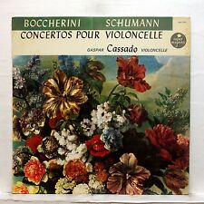 GASPARD CASSADO, PERLEA - BOCCHERINI & SCHUMANN cello concertos VOX LP EX+