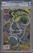 SUPERMAN: THE MAN OF STEEL #18 - CGC 9.8 - 1ST FULL DOOMSDAY - 0277830008
