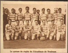 SPORT EQUIPE RUGBY ACADEMIE DE TOULOUSE IMAGE 1929