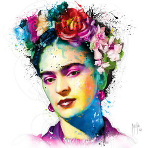 FRIDA KAHLO BY PATRICE MURCIANO ROCK SLATE ART PRINT OFFERED IN 2 SIZES