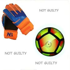 Kids Soccer Gloves Finger save size 4 to 7 & Outdoor PU Football Size 5