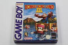 NINTENDO GAME BOY DONKEY KONG LAND III 3 COMPLETO PAL ESPAÑA