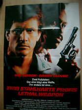 ZWEI STAHLHARTE PROFIS A0 FIMPLAKAT KINOPLAKAT FILMPOSTER 2 LETHAL WEAPON