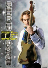 Philip Sayce 2012 Silver Wheel of Stars William Hames Signed Japanese Poster