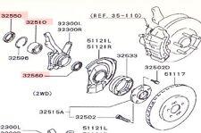 Genuine Mitsubishi OE Front Wheel Bearing & Seal Kit 3000GT GTO Non-Turbo