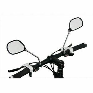 2X Fahrradspiegel Fahrrad Rückspiegel E-Bike Spy Space Spiegel Links Universal