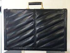 Briefcase Leather Bag Eel Skin Men Handbag Genuine Case Business Portfolio