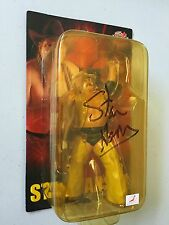 STAN HANSEN Autographed All Japan Pro Wrestling Figure (WWE WWF AWA) Signed