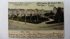 Halberstadt, Friedrichsplatz, Posted 1903 To U.K. Germany, Antique Postcard.