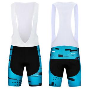 2021 MTB Team Men's Cycling Bib Shorts Bicycle Brace Pants Ropa Ciclismo Tights