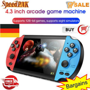 Portable 4.3'' 8GB Retro Handheld Game Console Video Game Built-in 10000 Game DE