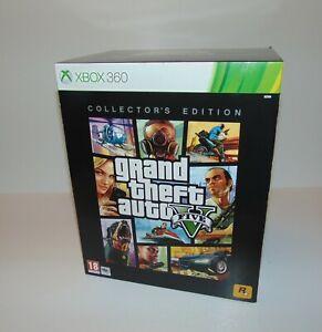 GTA Grand Theft Auto V Five Collector's Edition    Microsoft Xbox 360   Complete