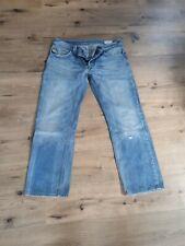 Diesel LARKEE 0800Z  Regular Straight Jeans 34 32 blau N855