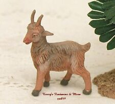"FONTANINI DEPOSE ITALY 2.5"" SERIES STANDING GOAT NATIVITY VILLAGE ANIMAL FIGURE"